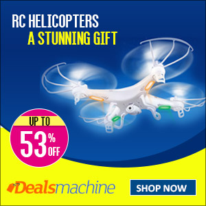 RC Helicopters! Up to 53% OFF for at Dealsmachine! A Stunning Gift for Kids and Friends!