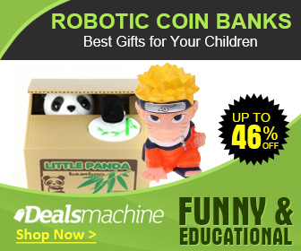 Robotic Coin Banks: Up to 46% OFF at Dealsmachine!
