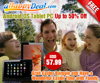 Easter Day's Special Offer,Android OS Tablet PC, Up to 40% Off,Choose US warehouse item, enjoy the fastest shipping!