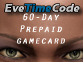 Eve Online 60-Day Prepaid Gamecard