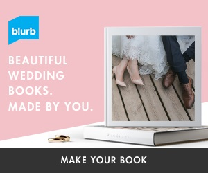 Traditional first year wedding anniverary gift idea blurb book