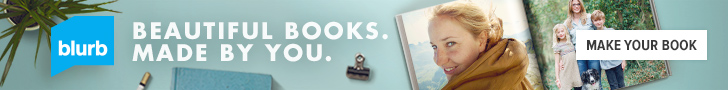 Photo book gifts or Publish your own book!  BLURB @blurbbooks