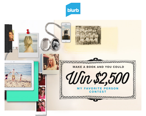 picture of Blurb contest ad