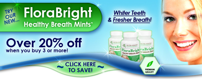 Natural teeth whitening supplement