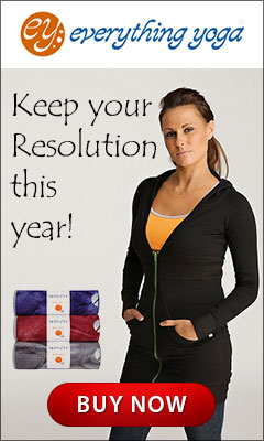 Keep your resolutions this year with EverythingYoga.com!