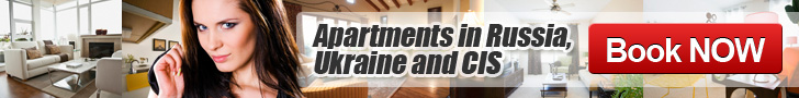 Apartments in Russia, Ukraine, CIS,
