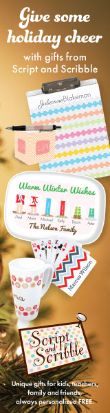 Personalized Holiday Teachers & Kids Gifts