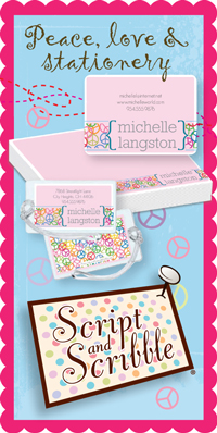 Cute custom stationery for kids
