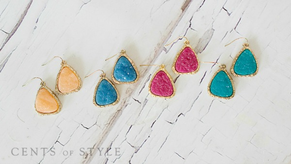 *HOT* Druzy Stone Necklace &am...
