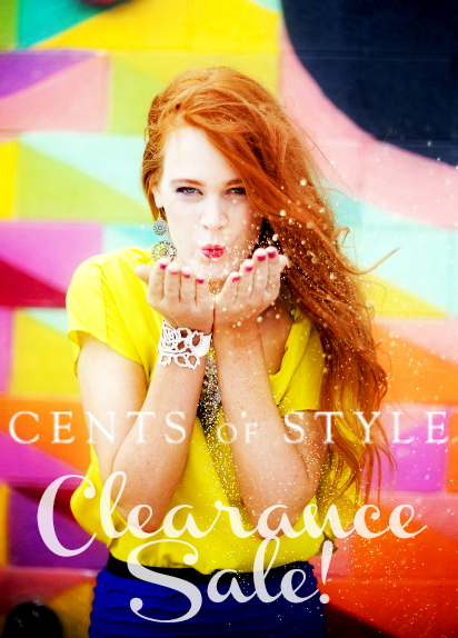 Fashion Friday- 2/8/13- CLEARANCE SALE