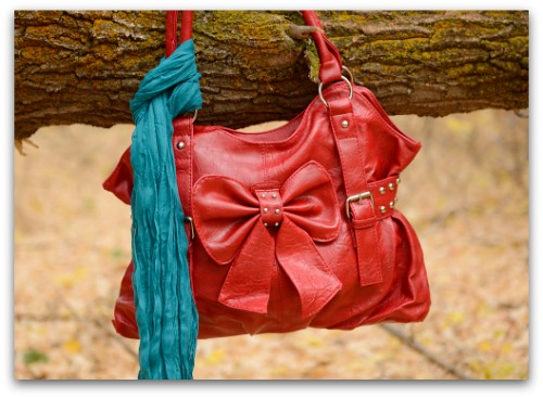 10/19 ONLY- Use coupon code FASHIONFRIDAY to get a handbag and scarf for $26.73 and FREE SHIPPING