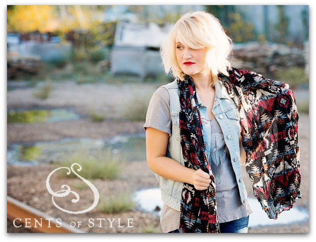 Fashion Friday- 9/27/13- Aztec Scarves- 1 for $7.95, 2 for $12.00 & FREE SHIPPING