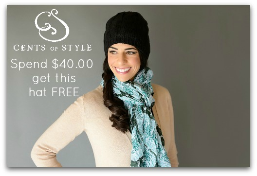 Fashion Friday- 1/4/13- Free Hat with purchase of $40 or more and 20% off coupon (20SAVED)