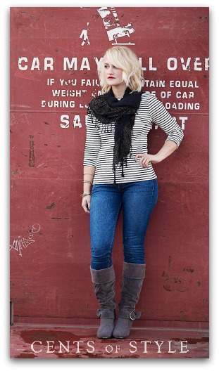 Fashion Friday- 9/20/13- Boots & Scarf- $32.95 & FREE SHIPPING with code FASHIONFRIDAY