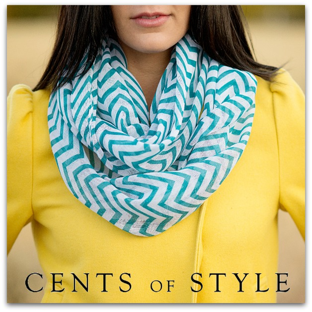 IMAGE-Fashion Friday- 11/15- Chevron Infinity Scarf- $7.95 & FREE SHIPPING with Code BESTSELLER