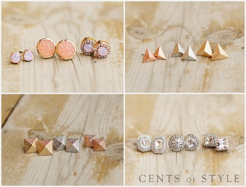 Use code STUD to get a single pair of stud earrings for $3.59 shipped