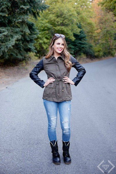 Harriet Military Jacket for $21.95 + FREE Shipping!