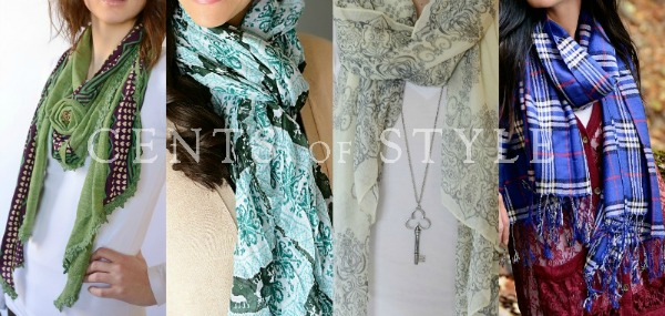 Fashion Friday- 3/8/13- All Scarves on Sale- Starting at $5.36 & FREE SHIPPING with code FASHION FRIDAY