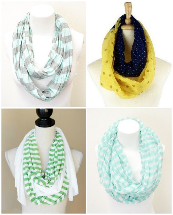 Scarves for $9.98 & FREE SHIPPING with code SAVE