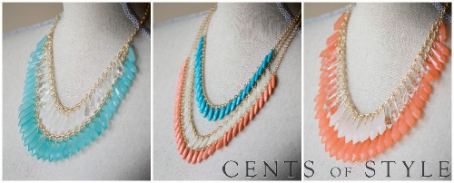Statement Necklaces $9.99 Shipped with Coupon Code MSMSTATEMENT