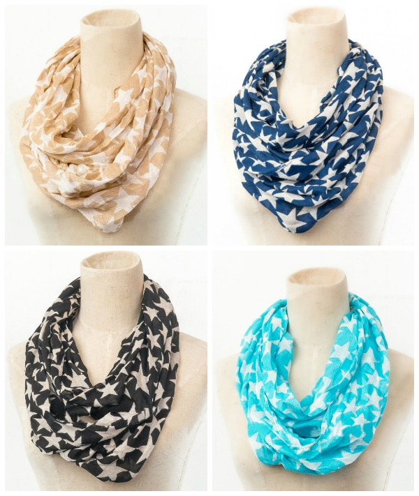 Infinity Scarf- $7.95 & FREE SHIPPING with code DISCOUNT