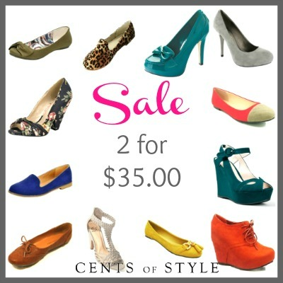 Fashion Friday- 1/18/13- Shoes 2 for $35.00 and FREE SHIPPING with code- FASHIONFRIDAY