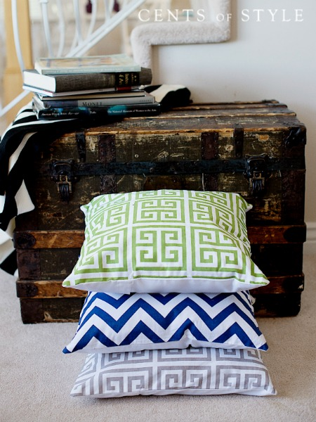 Geometric Pillow Covers Blowou...