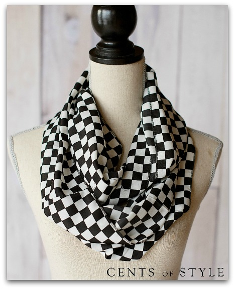 IMAGE: Flash Sale- Graphic Infinity Scarf- $7.47 Shipped with Code MAYDEAL