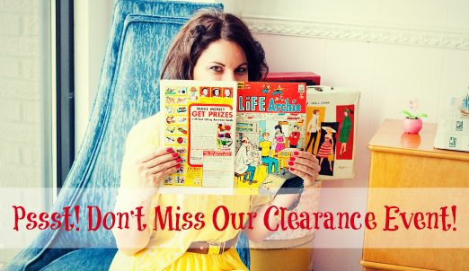 Fashion Friday- 9/6/13- Clearance Event- FREE Item with Every Order with Code CLEARANCE