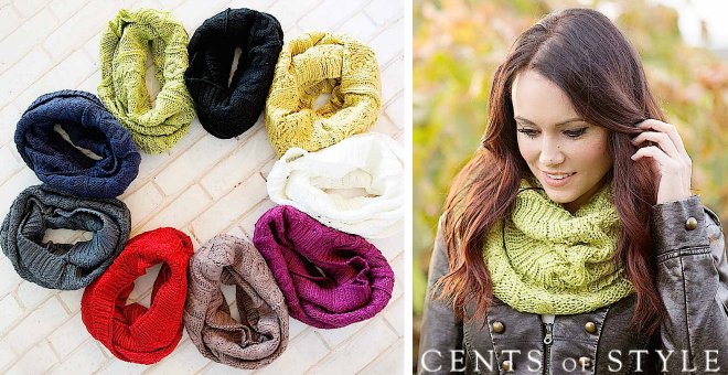 IMAGE: Winter Scarves 80% off & FREE SHIPPING