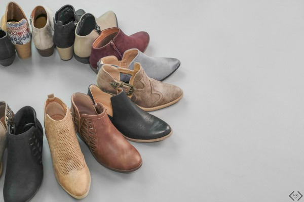$15 off Fall Booties Under $35 and Free Shipping.