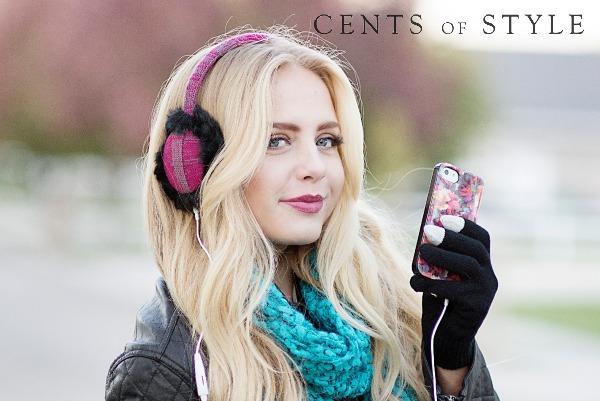 IMAGE: Earmuff Headphones & Glove Set