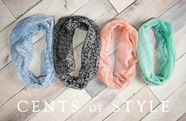 IMAGE: Fashion Friday- 2/20/15- Spring Scarves- $5.95 & FREE SHIPPING w/ Code SPRING