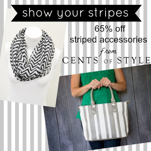 Fashion Friday- 8/30/13- 65% Off Striped Accessories with Code STRIPES