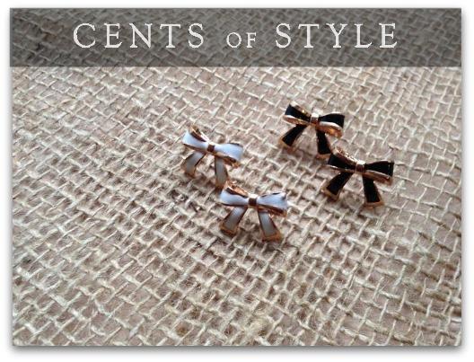 IMAGE- Fashion Friday Upsell- Bow Stud Earrings- $1.99