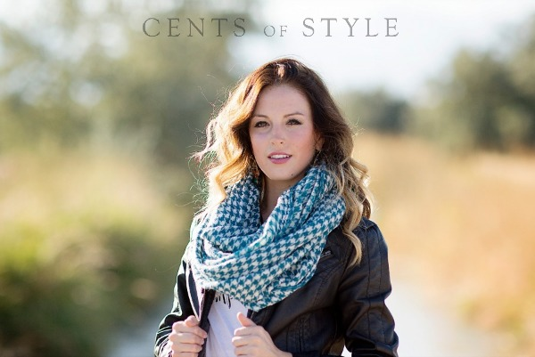 Houndstooth Infinity Scarf $11...