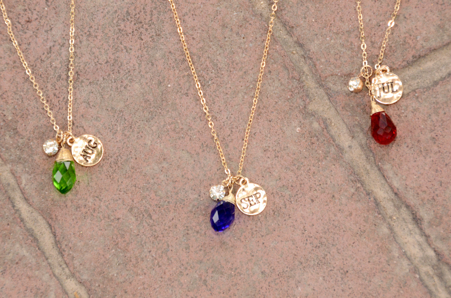 Birthstone Necklace $4.99 &amp...