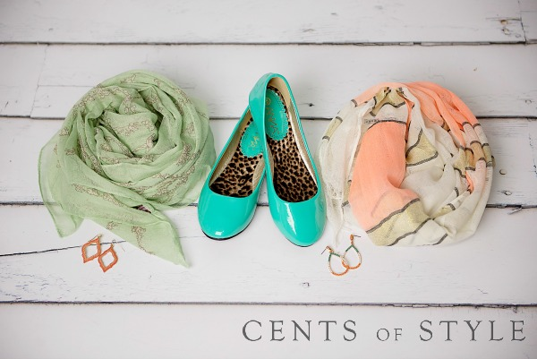 IMAGE: Fashion Friday- 3/27/15- Mint & Peach Accessories 50% off & FREE SHIPPING w/ Code MINT