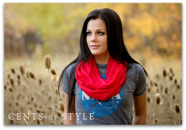IMAGE:T-Shirt Infinity Scarf- $7.95 & FREE SHIPPING with Code SCARFLOVE