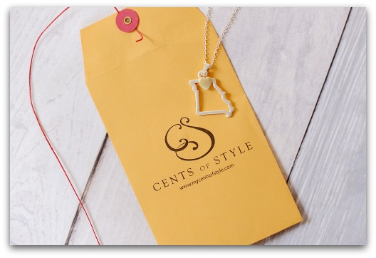 IMAGE: Fashion Friday- 5/23/14- Custom State Necklaces- $11.95 & FREE SHIPPING with Code HOME