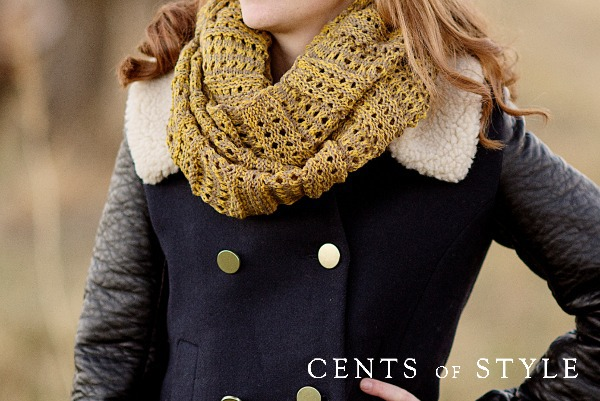 IMAGE: Knit Infinity Scarf- $9.95 & FREE SHIPPING w/ Code KCL100, +FREE Earrings