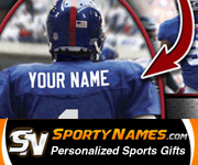 Sports Gifts by Sporty Names