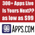 300+ Apps Live on iTunes for as little as $99 by 99Apps.com