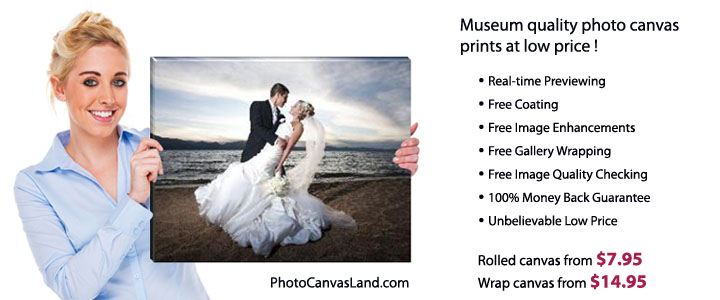 museum quality photo on canas at low price