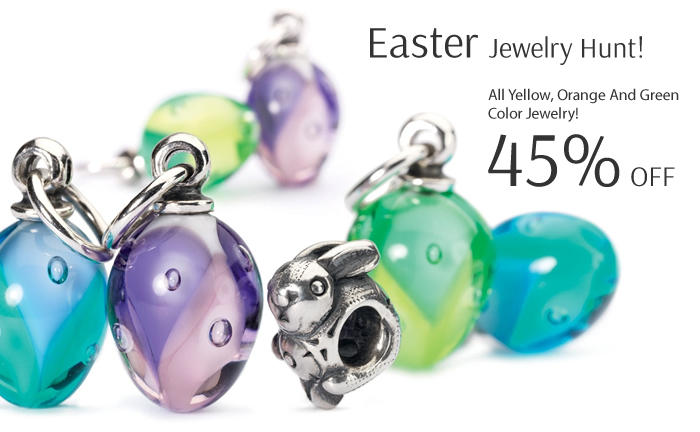 Easter Jewelry Hunt! 45% OFF on All Yellow, Orange & Green Color Jewelry!