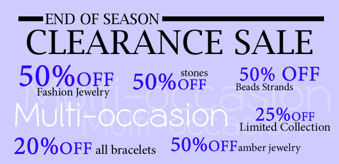 End of Season Clearance Sale at www.SilverRushStyle.com
