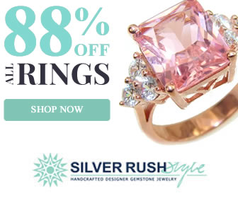 Happy St. Patrick's Day! 50% OFF Green Jewelry + 4