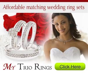 Wedding Ring Sets Trio