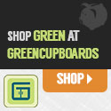 Save some green while shopping green at GreenCupboards!