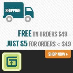 Receive free shipping at GreenCupboards!